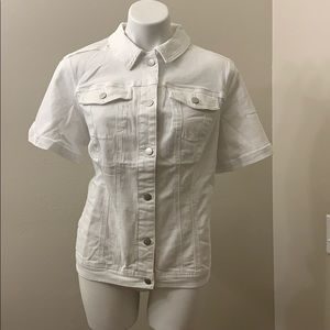 Westport Women's Short-Sleeve Denim Jacket